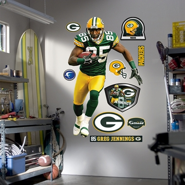 Green Bay Packers Greg Jennings Fathead Wall Graphic
