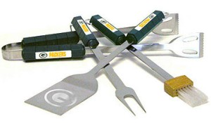 Green Bay Packers Grill BBQ Utensil Set