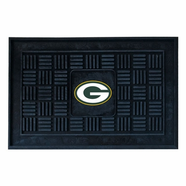 Green Bay Packers Heavy Duty Vinyl Doormat