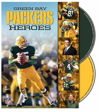 Green Bay Packers Heroes DVD