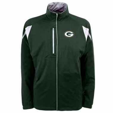 Green Bay Packers Mens Highland Water Resistant Jacket (Team Color: Green)