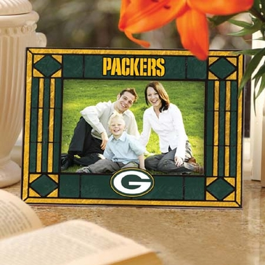Green Bay Packers Landscape Art Glass Picture Frame