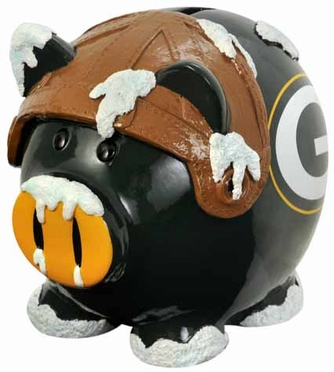 Green Bay Packers Large Thematic Piggy Bank