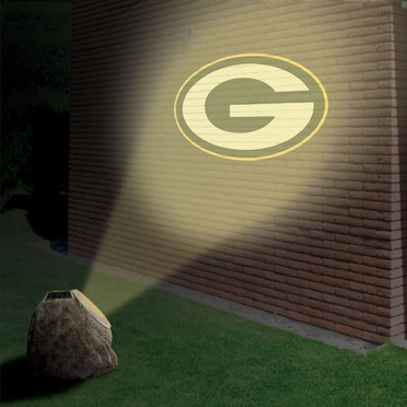 Green Bay Packers Logo Projection Rock