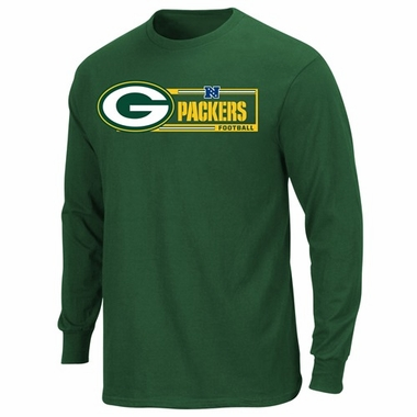 Green Bay Packers Majestic Critical Victory VII Long Sleeve T-Shirt - Green