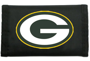 Rico Green Bay Packers Nylon Wallet