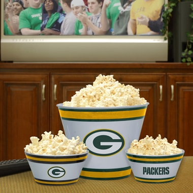 Green Bay Packers Plastic Serving Set