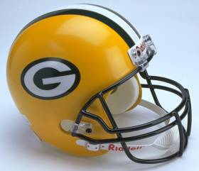 Green Bay Packers Riddell Full Size Authentic Helmet
