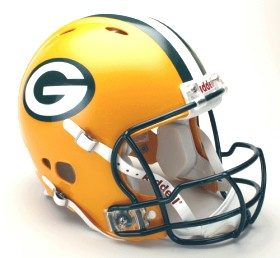 Green Bay Packers Riddell Full Size Authentic Revolution Helmet