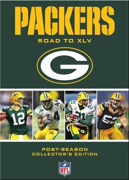 Green Bay Packers ROAD TO XLV  DVD