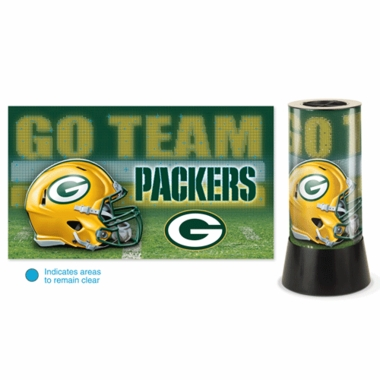 Green Bay Packers Rotating Lamp