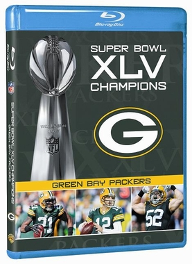 Green Bay Packers SB Champs Blu-Ray DVD