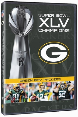 Green Bay Packers SB Champs DVD