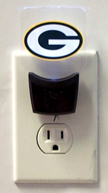 Green Bay Packers Set of 2 Nightlights