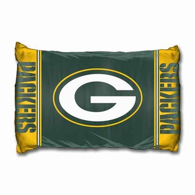 Green Bay Packers Set of 2 Pillow Cases (Team Color)