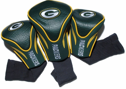 Green Bay Packers Set of Three Contour Headcovers