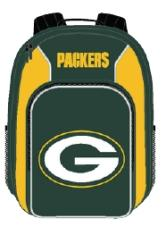 Green Bay Packers Southpaw Youth Backpack