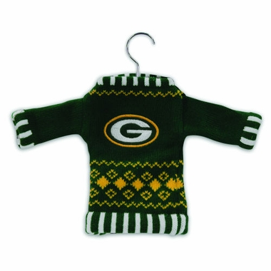 Green Bay Packers Sweater Ornament (Set of 3)