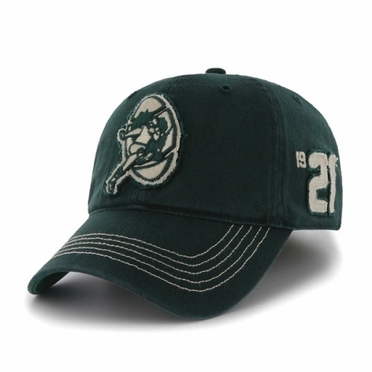 Green Bay Packers Throwback Badger Franchise Flex Fit Hat