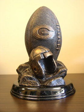 Green Bay Packers Tim Wolfe Statue