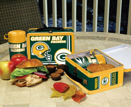 Green Bay Packers Tin Lunch Box