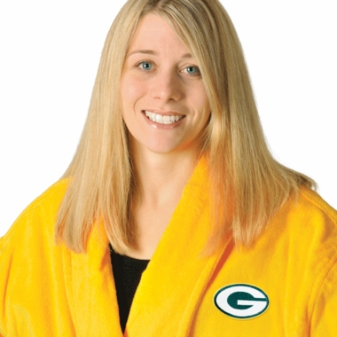 Green Bay Packers UNISEX Bath Robe (Alternate Color)