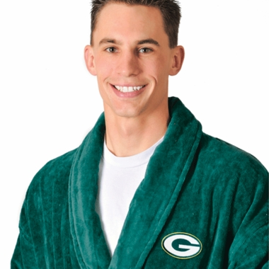 Green Bay Packers UNISEX Bath Robe (Team Color)