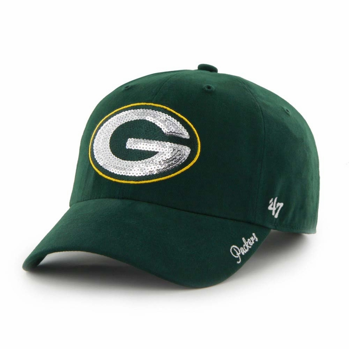 green bay packers s 47 brand sparkle clean up