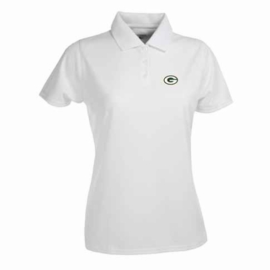 Green Bay Packers Womens Exceed Polo (Color: White)