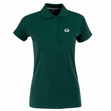 Green Bay Packers Womens Spark Polo (Team Color: Green)