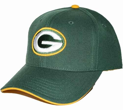 Green Bay Packers Youth Adjustable Slouch Hat