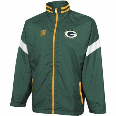 Green Bay Packers YOUTH Goal Post Lightweight Full Zip Jacket