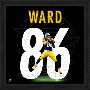 "Hines Ward, Steelers 20"" x 20"""