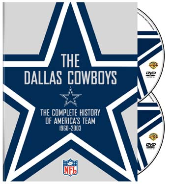 History of the Dallas Cowboys DVD