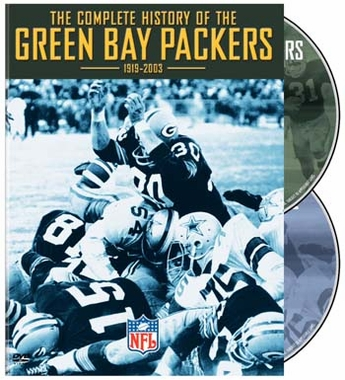History of the Green Bay Packers DVD