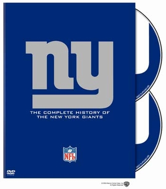 History of the New York Giants DVD