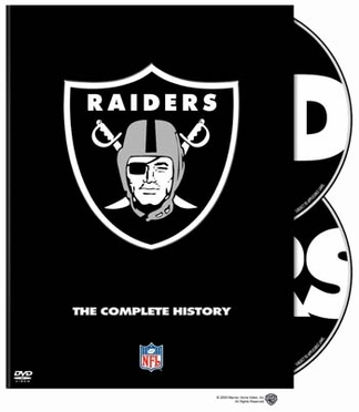 History of the Oakland Raiders DVD