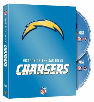 History of the San Diego Chargers DVD