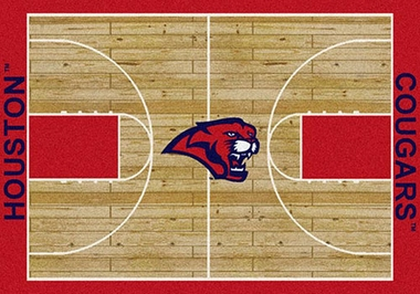 "Houston 7'8"" x 10'9"" Premium Court Rug"