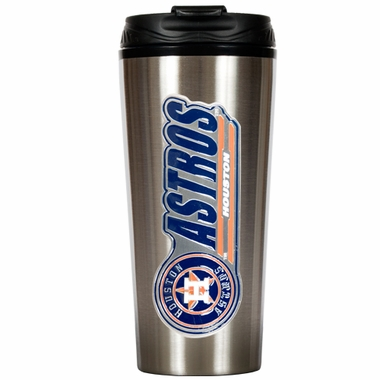 Houston Astros 16 oz. Thermo Travel Tumbler