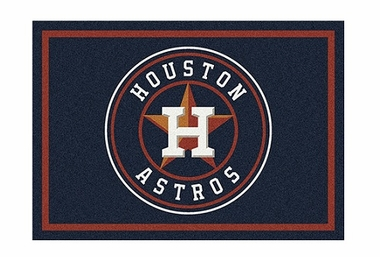 "Houston Astros 3'10"" x 5'4"" Premium Spirit Rug"