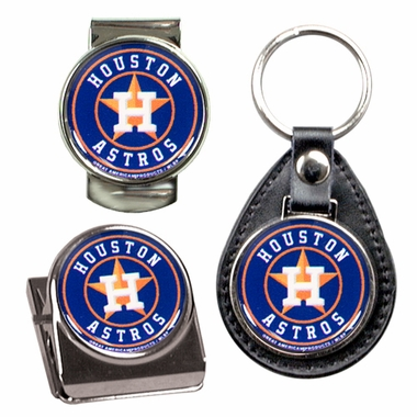 Houston Astros 3 Piece Gift Set