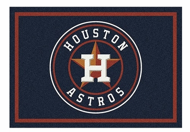 "Houston Astros 5'4"" x 7'8"" Premium Spirit Rug"