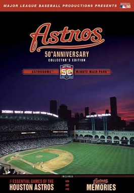 Houston Astros 50th Anniversary DVD Set