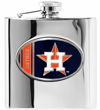 Houston Astros 6 oz. Hip Flask