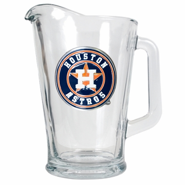 Houston Astros 60 oz Glass Pitcher