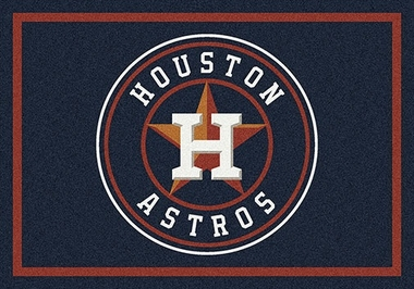 "Houston Astros 7'8"" x 10'9"" Premium Spirit Rug"