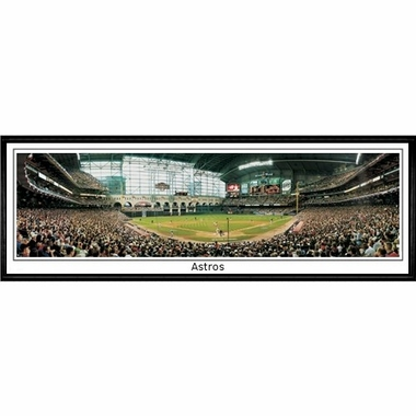 Houston Astros Astros Framed Panoramic Print