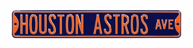 Houston Astros Ave Street Sign