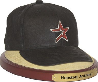 Houston Astros Ball Cap Figurine